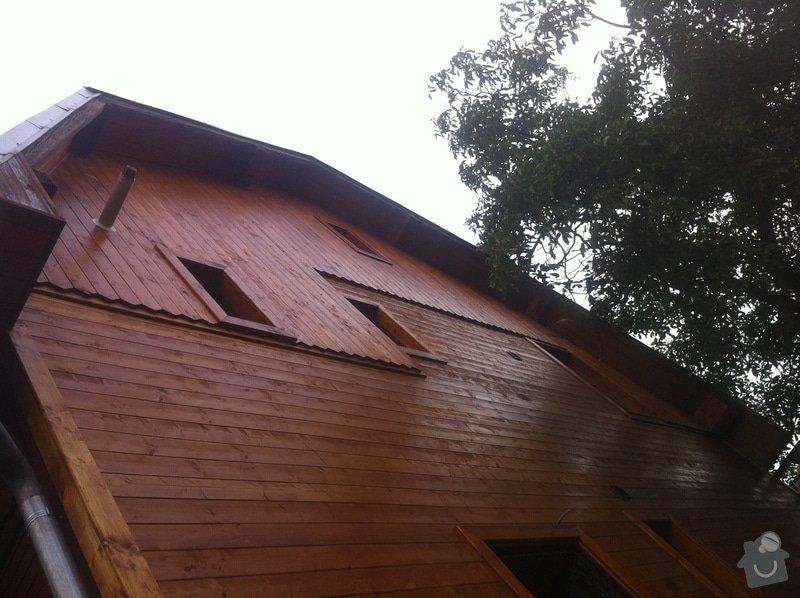 Oprava a zateplení dřevěné fasády: IMG_5120