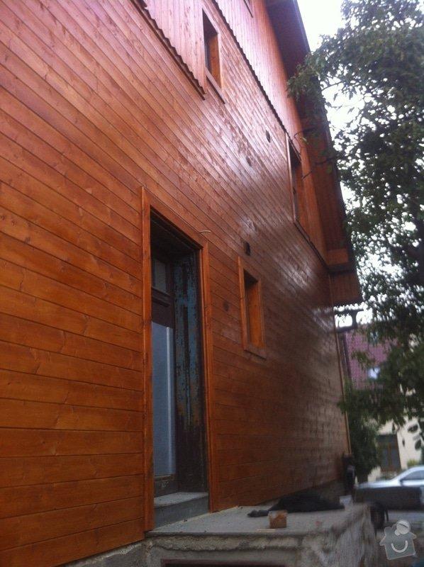 Oprava a zateplení dřevěné fasády: IMG_5119