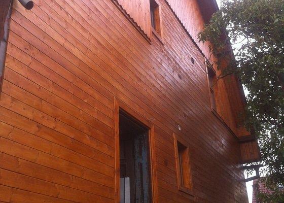 Oprava a zateplení dřevěné fasády