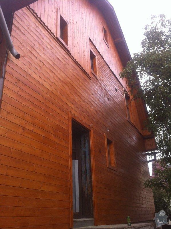 Oprava a zateplení dřevěné fasády: IMG_5116