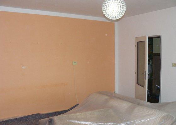 Vymalování části rodinného domu