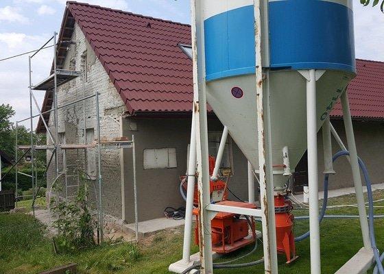 Zhotovení nové fasády (bez zateplení)