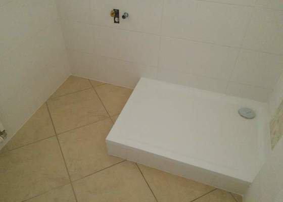 Montáž sprchového koutu (zástěna), montáž sprchové baterie
