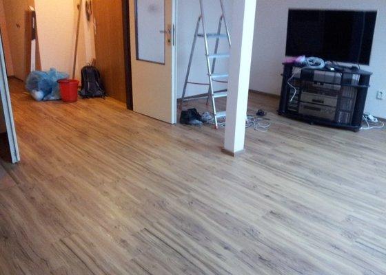Pokládka plovoucí podlahy 29m2