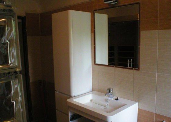 Rekonstrukce koupelny a záchoda