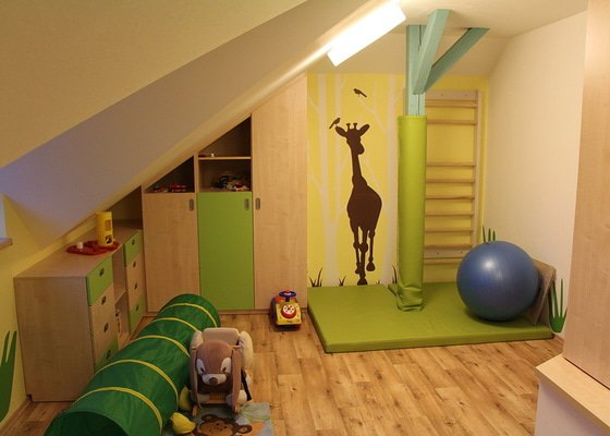 Kuchyň a dětské pokoje
