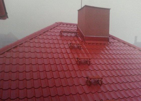 Rekonstrukce sedlové střechy Klášterec nad Ohří