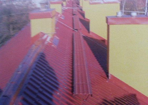 Rekonstrukce šikmé střechy Karla Buriana 3585 v Chomutově