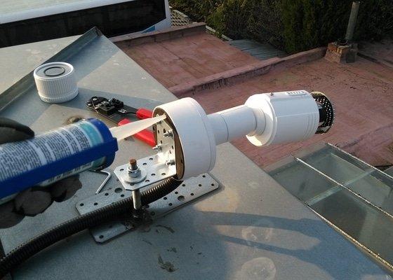 Kamerový systém - dodávka a montáž