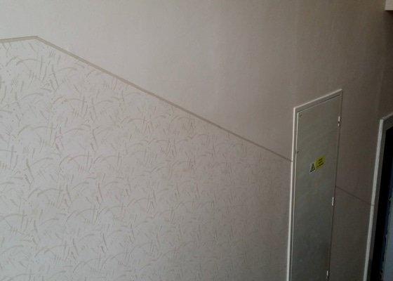 Malování schodiště