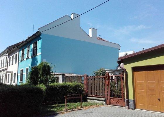 Zateplení štítové zdi 110 m2