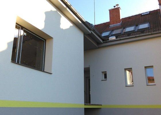Zateplení fasády části bytového domu