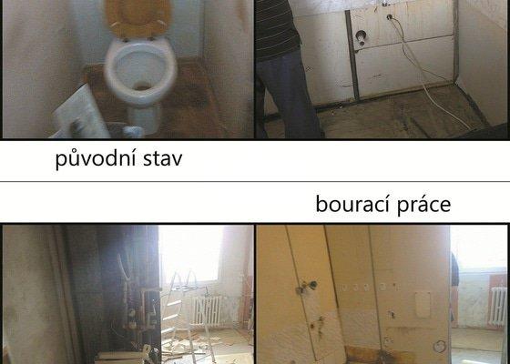 Rekonstrukce bytového jádra a kuchyně v panelovém domě