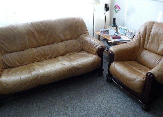 Renovace koženého gauče