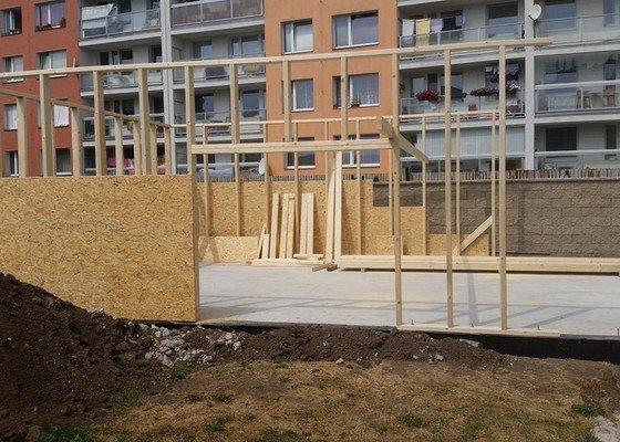 Dřevostavba-Garáž 10x7m