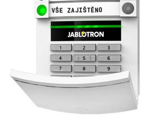 Zabezpečení zrekonstruovaného bytu alarmem Jablotron 100