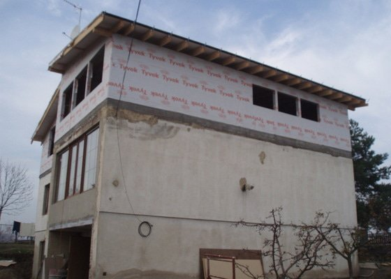 Zateplení 400 metrů fasády stavební práce