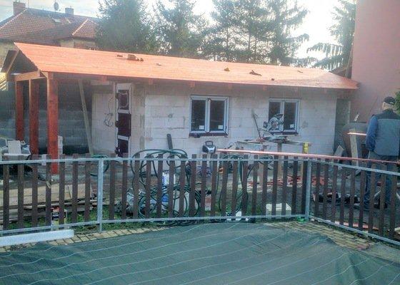 Výroba a montáž sedlové střechy