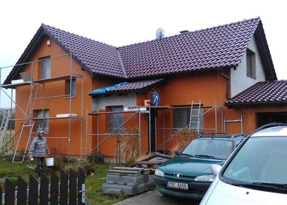 Zhotovení fasády rodinného domu