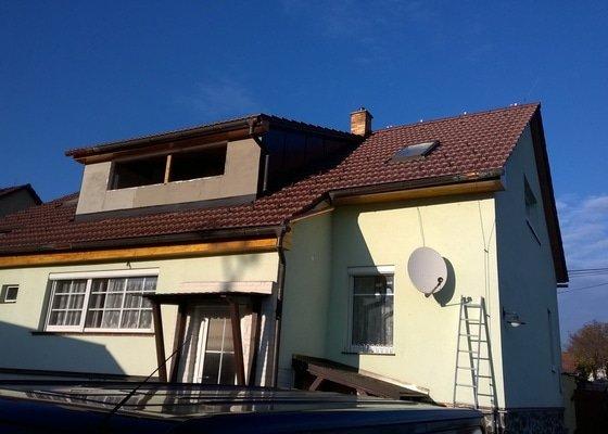 Zhotovení nové střechy