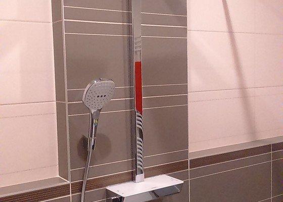 Instalace sprchy