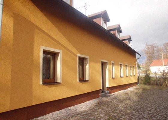 Zateplení a fasáda domu