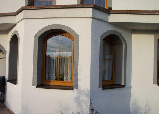 Nátěr fasády silikonovou barvou