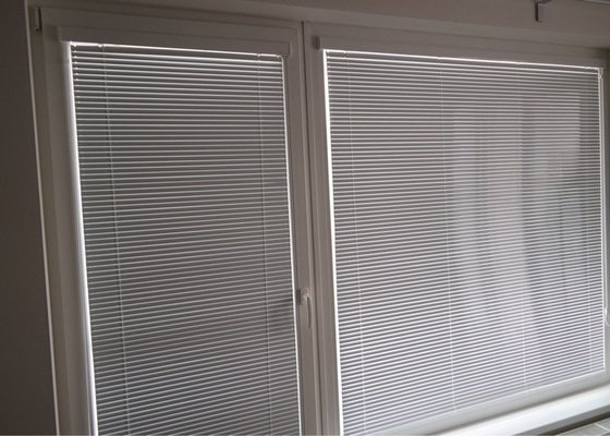 Horizontální interiérové žaluzie