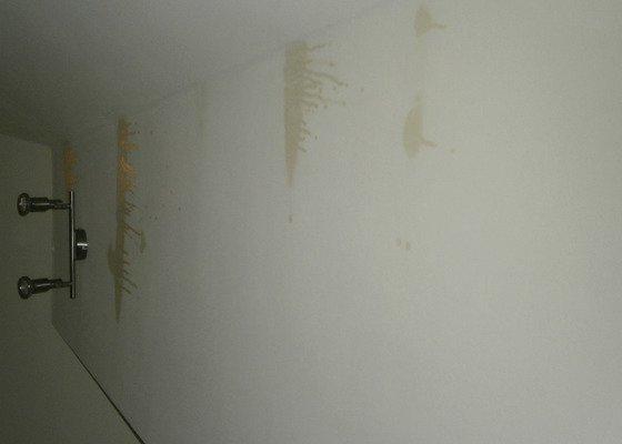 Oprava sádrokartonové střechy + oprava izolace