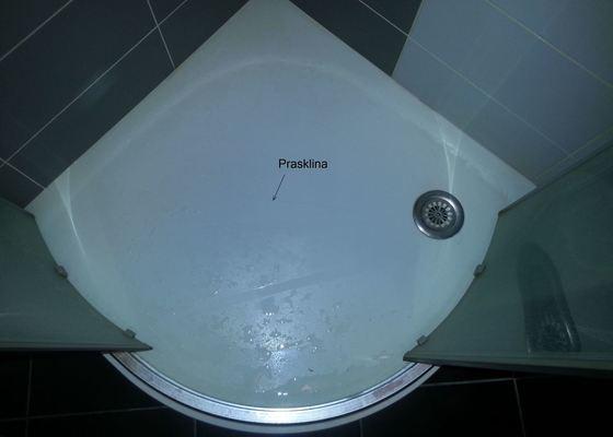 Výměna vaničky sprchového koutu