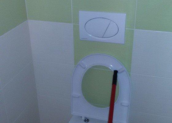 Rekonstrukce koupelny - bytové jádro
