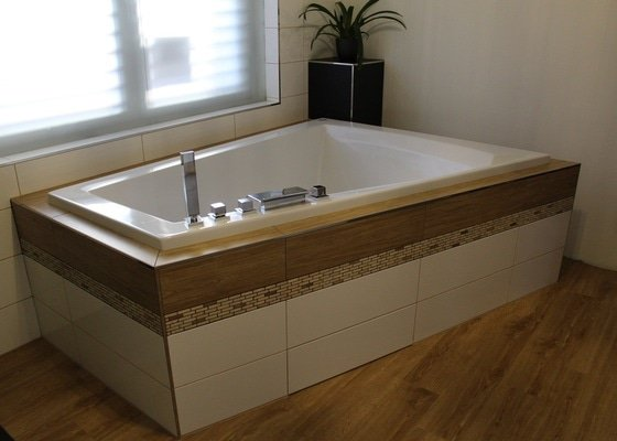 Obklad koupelny 25 m2