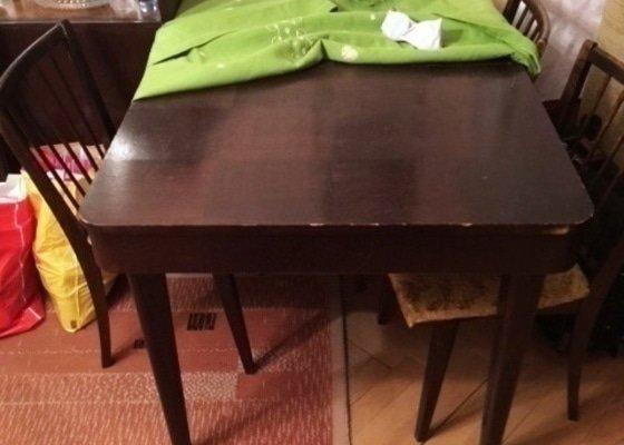 Oprava stolu, stolku a židlí