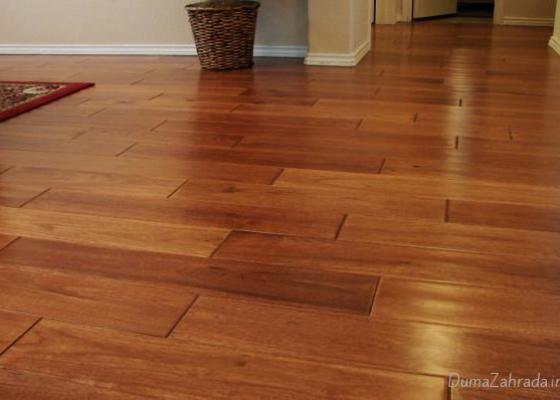 Výměna 20 m2 plovoucí podlahy za dřevěný masiv. Staré Brno