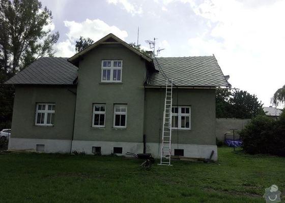 Rekonstrukce střechy + výměna oken