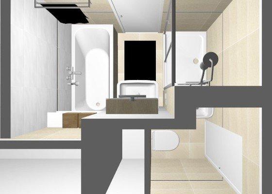 Rekonstrukce jádra v panelovém bytě