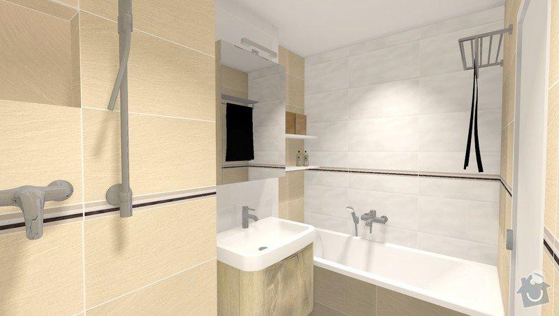 Rekonstrukce jádra v panelovém bytě: Rbily_obklad