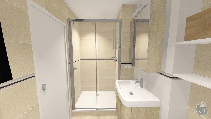 Rekonstrukce jádra v panelovém bytě: Rvar2_pohled7