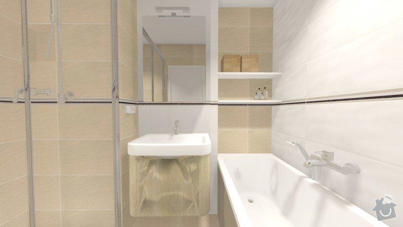Rekonstrukce jádra v panelovém bytě: Rvar2_pohled5