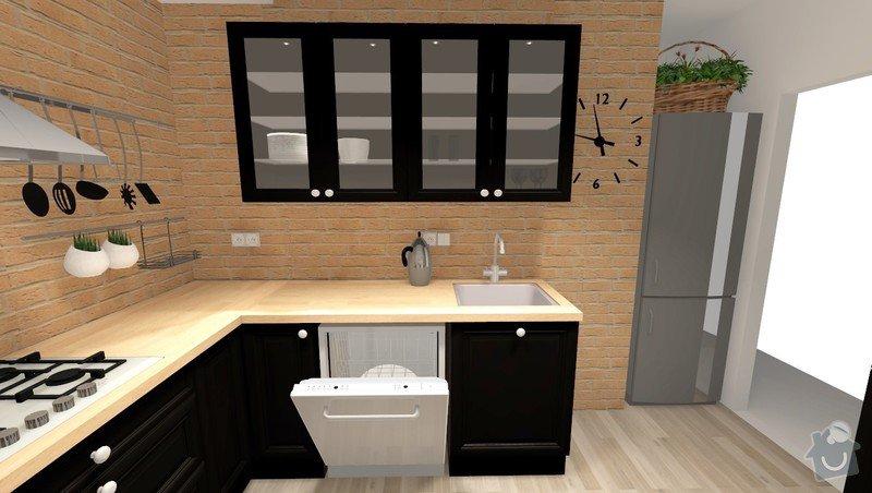Rekonstrukce jádra v panelovém bytě: Rvar1_pohled5