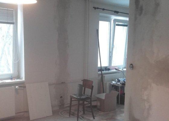 Stavební úpravy v cihlovém domě