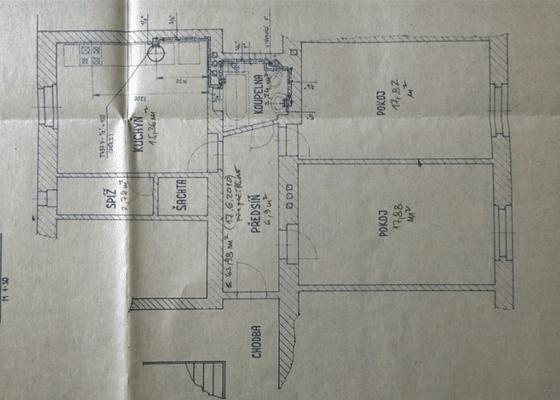 Návrh interiéru + realizace 2-3 místností v bytě