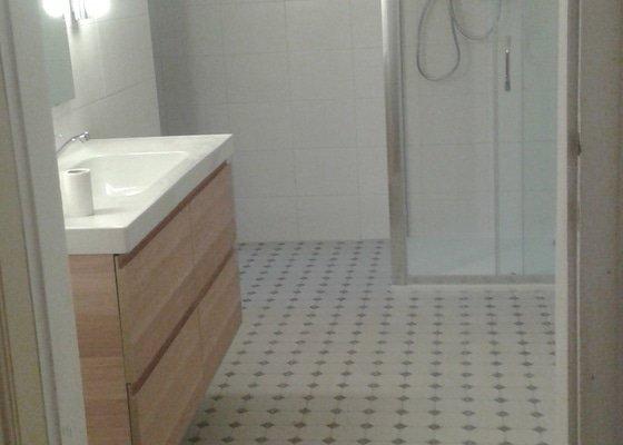 Kompletni rekonstrukce koupelny a zachodu