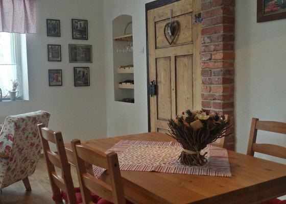 Návrh kuchyně s obývacím pokojem