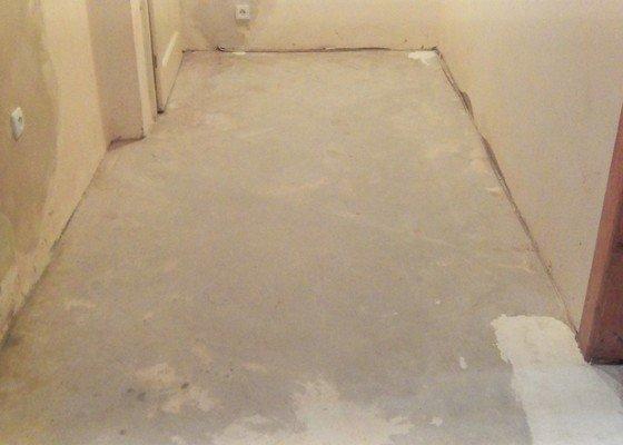Renovace podlahy v kuchyni 11,3 m2