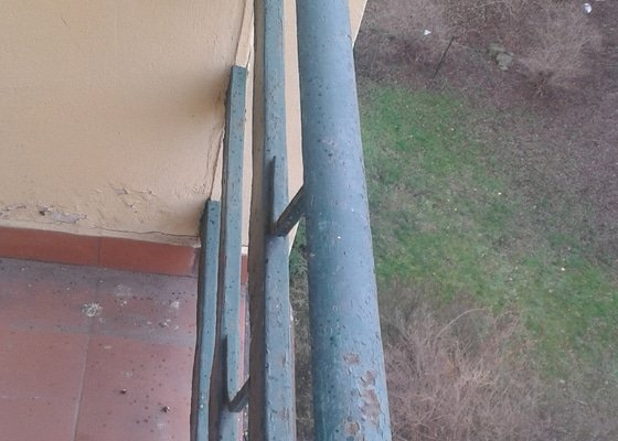 Oprava balkonove zabradli