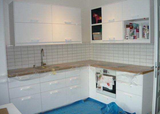 Obklad kuchyňské linky