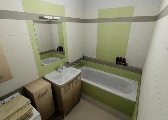 Rekonstrukce bytového jádra - koupelny