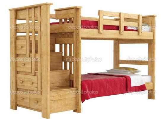 Výroba patrové postele