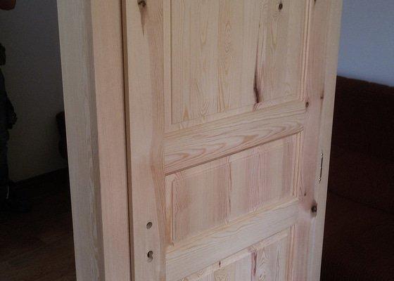 Výroba dveří z masivu